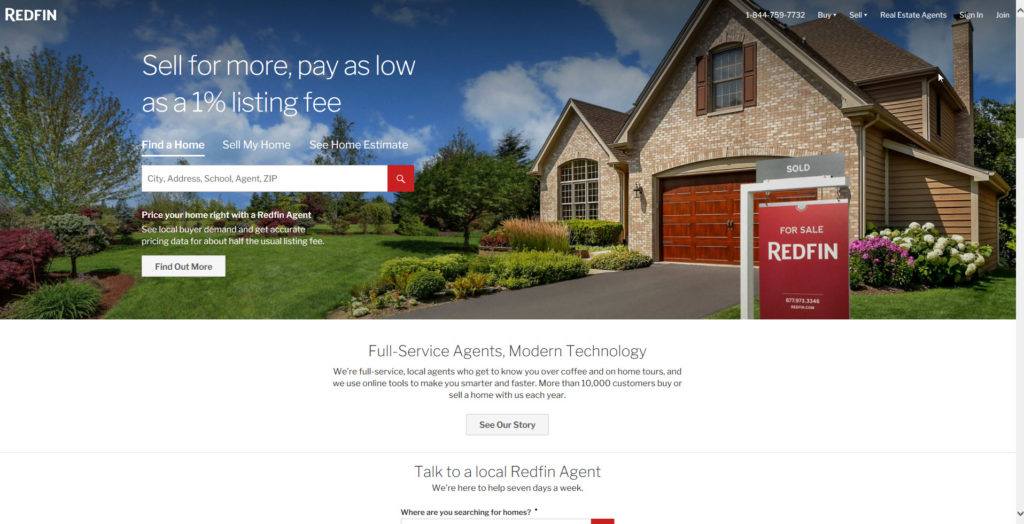 redfin.com website photo
