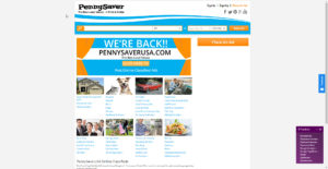 www.pennysaverusa.com website photo