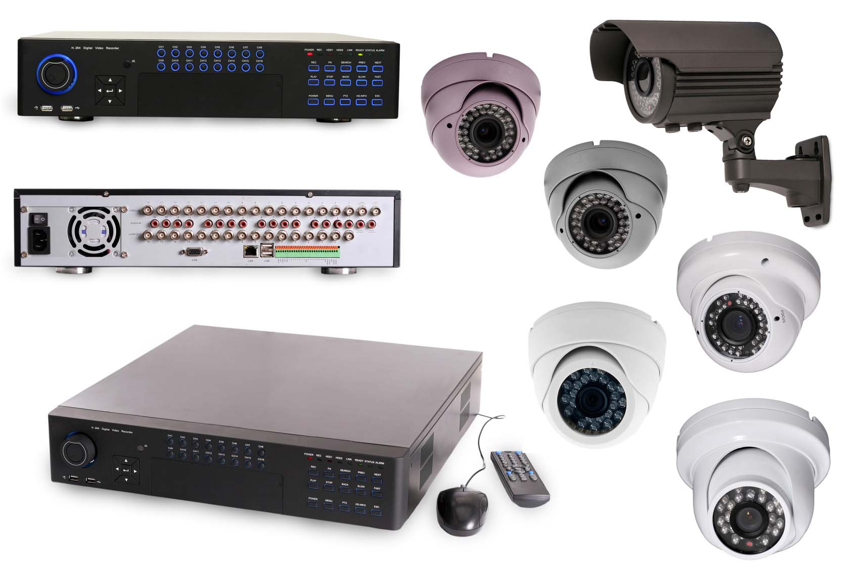 digital video recorders and cameras