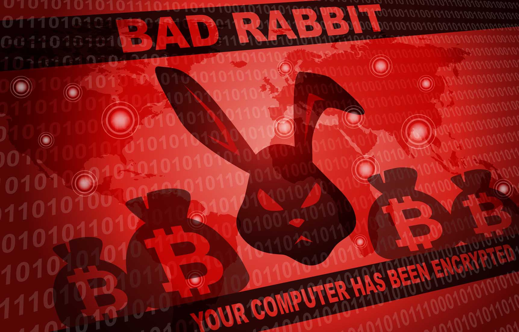 Bad Rabbit Ransomware Attack Malware Hacker Around The World