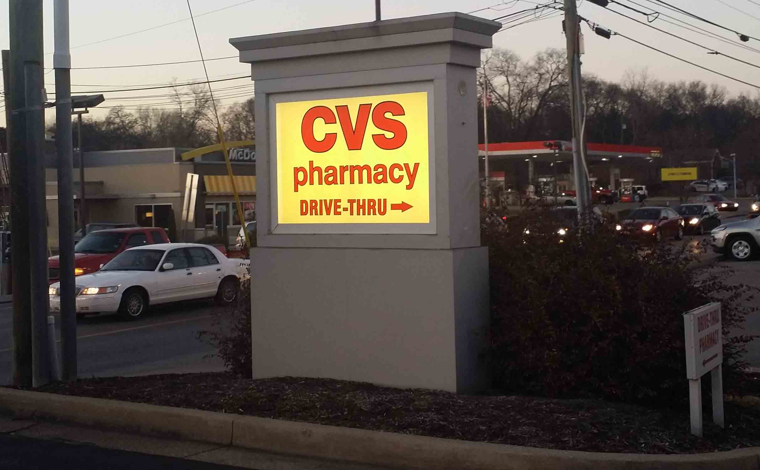 cvs pharmacy locations currently in nashville  tennessee