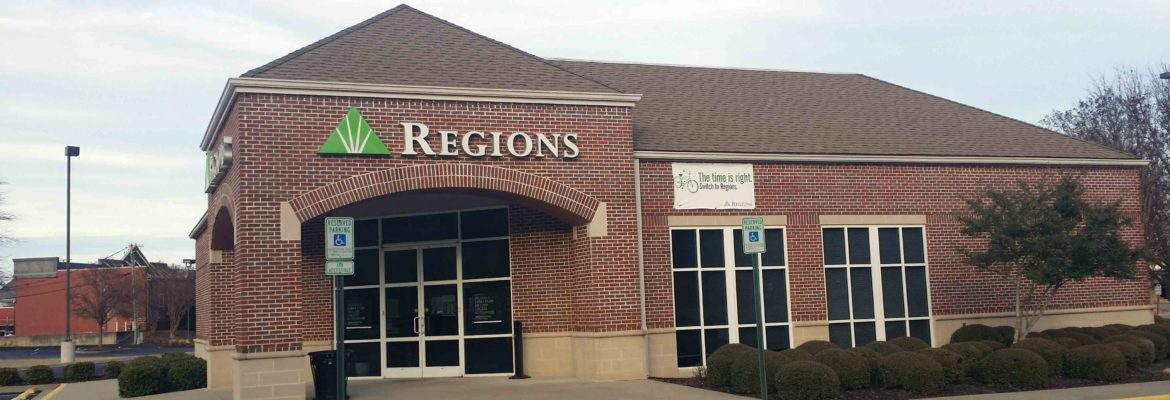 Regions Bank Locations In Memphis, Tennessee